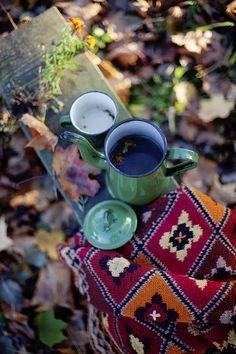 Autumn Tea Outdoors